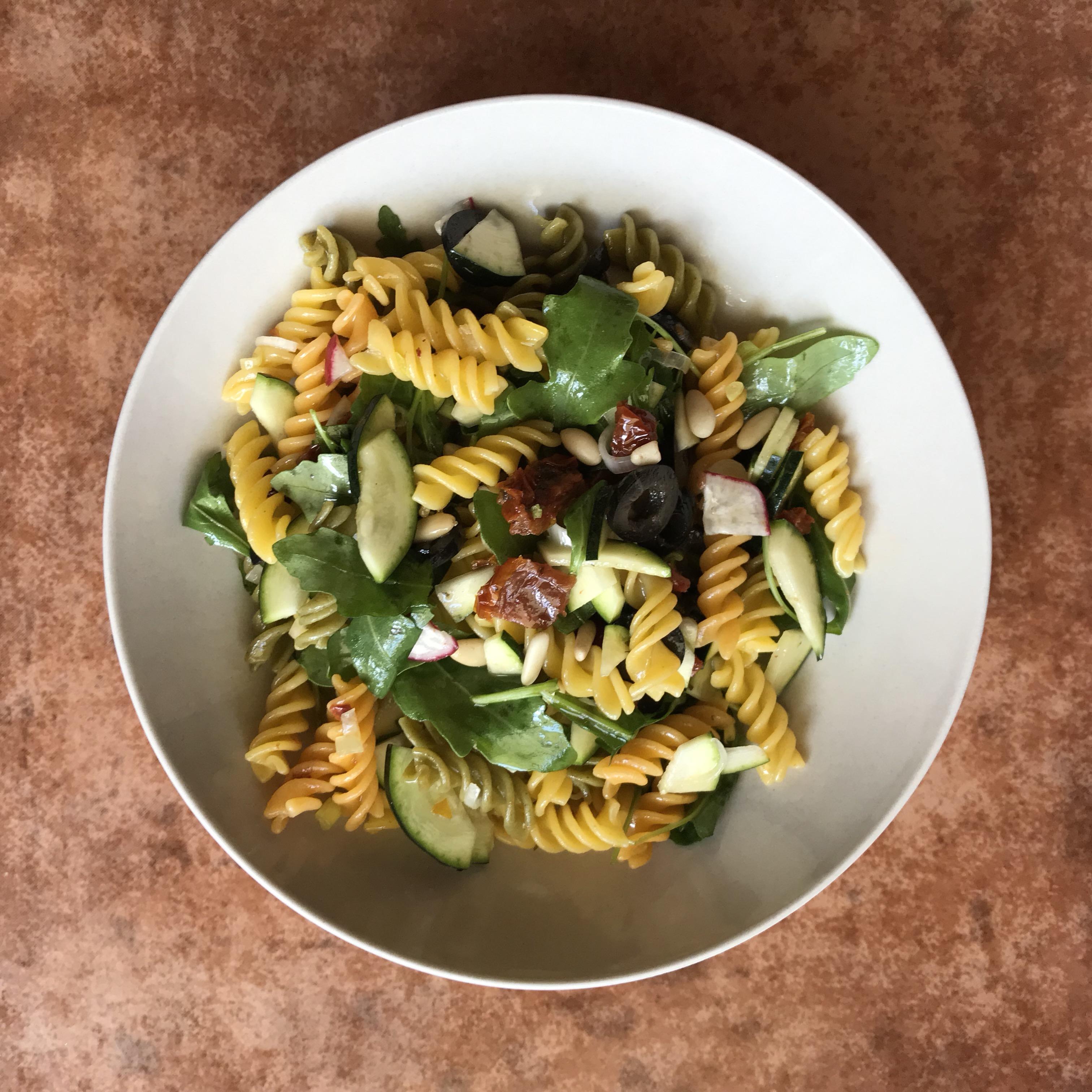 Mediterranean Pasta & Rocket Salad (gluten-free)